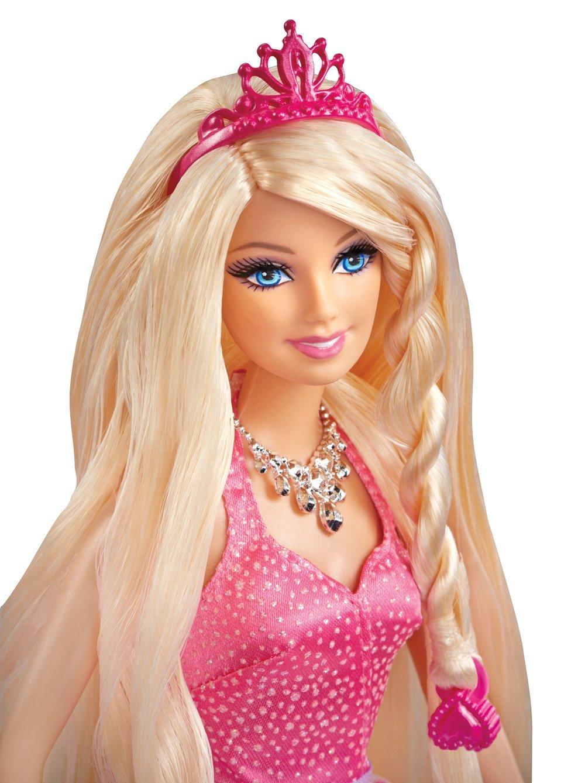 Barbie Bajeczne Fryzury Księżniczki Bcp41 Mattel
