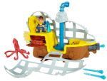Fisher price Jake i Piraci BDJ02 Łajbek łódź podwodna