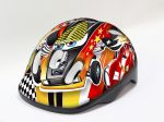 Merida Kask Kidy Cars red XS 44-48cm HM-BS236